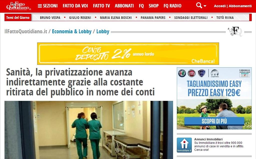 News dal web: IlFattoQuotidiano.it
