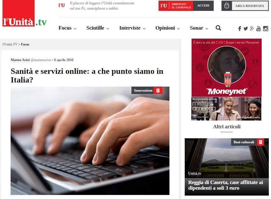 News dal web: l'Unità.tv