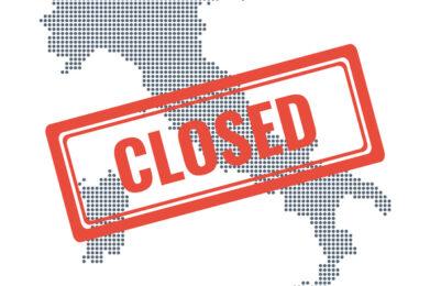 Coronavirus: chiuse tutte le attività produttive non necessarie